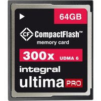 Integral Compact Flash UltimaPro 64GB 300x (INCF64G300W)