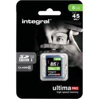 Integral SDHC UltimaPro 8GB Class 10 (INSDH8G10-45)