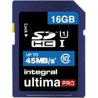 Integral SDHC UltimaPro 16GB Class 10 (INSDH16G10-45)