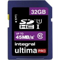 Integral SDHC UltimaPro 32GB Class 10 (INSDH32G10-45)