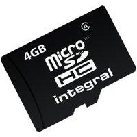Integral microSDHC 4GB Class 4 (INMSDH4G4V2)