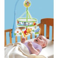 TOMY Winnie The Pooh Chasing Butterflies Cot Mobile