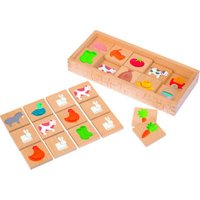 Janod Wooden Farm Memory Game