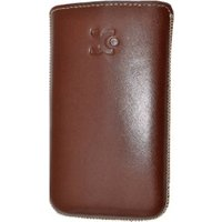 SunCase Leather Case Brown (Samsung Galaxy Ace)