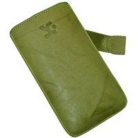 SunCase Leather Case Wash Green (Nokia Lumia 800)