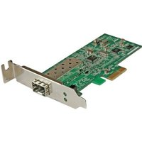 StarTech 10/100 Mbps Ethernet Fiber SFP PCIe Network Card Adapter