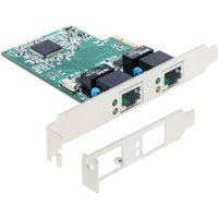 DeLock PCI Express Card > 2 x Gigabit LAN