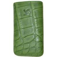 SunCase Mobile Phone Case Croco Green (Sony Xperia E)