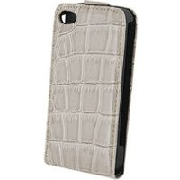 Guess Flip Case Croco beige (iPhone 4/4S)
