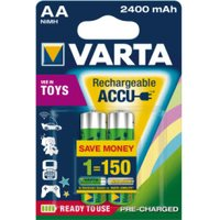 Varta 2x Toy Ready-To-Use AA Mignon-Akkus 1.2V 2400 mAh