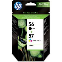 HP No. 56+57 (SA342AE) Color+Black