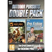 Outdoor Pursuits Double Pack - Deer Drive and Pro Fishing (PC)