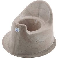 Rotho Natural Stone Potty Marble Cappuccino