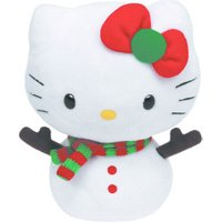 Ty Beanie Babies Hello Kitty Christmas
