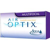 Alcon Air Optix Aqua Multifocal (3 pcs) +4.00