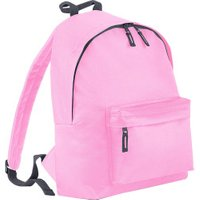 Bagbase Fashion Backpack classic pink/graphite grey