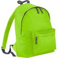 Bagbase Fashion Backpack lime green/graphite grey