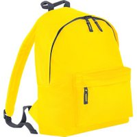 Bagbase Fashion Backpack yellow/graphite grey