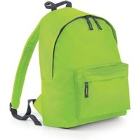 Bagbase Junior Fashion Backpack lime green/graphite grey