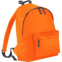 Bagbase Junior Fashion Backpack orange/graphite grey