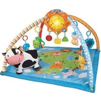 Vtech Little Friendlies 2-in1 Baby Gym Blue