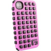 G-Form Extreme Grid Pink / Black (iPhone 4/4S)