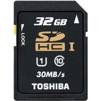Toshiba SDHC HighSpeed Professional 32GB Class 10 (SD-T032UHS1)