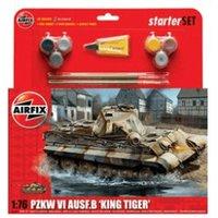Airfix PZKW VI Ausf.B King Tiger Tank Starter Set 1:76 (A55303)
