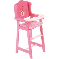 Bayer-Chic 	Doll High Chair - Design Little Pink Fairy