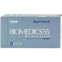 CooperVision Biomedics 55 Evolution UV -0.25 (6 pcs)
