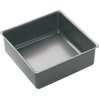 Kitchen Craft Master Class Loose Base Square Cake Pan 15cm