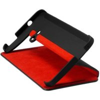 HTC HC V841 Flip Case black/red (HTC One)