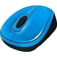 Microsoft Wireless Mobile Mouse 3500 Cyan Blue gloss