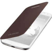 Samsung Flip Cover brown (Galaxy S4)