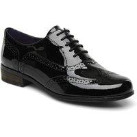 Clarks Hamble Oak black paint leather