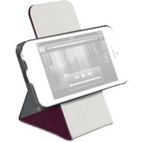 Macally SSTAND Case Burgundy (iPhone 5C)