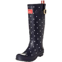 Joules Welly Print navy spot