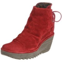 Fly London Yama oil suede red