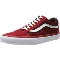 Vans Old Skool leopard red