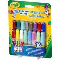 Crayola 16 mini glitter glues