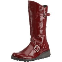 Fly London Mes Women red patent