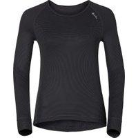 Odlo Shirt l/s Crew Neck Cubic Women (140051) ebony grey / black