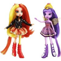 Hasbro My Little Pony Equestria Girls - Sunset Shimmer & Twilight Sparkle