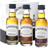 Bowmore Collection 3 x 0,05l