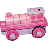 Bigjigs Battery Operated Engine Pink