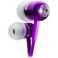 BassBuds Classic Earphones Purple