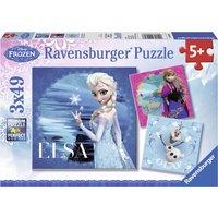Ravensburger Frozen - Elsa, Anna & Olaf (3 x 49 Pieces)