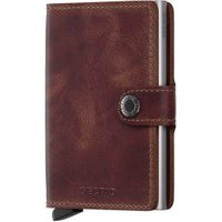 Secrid RFID Cardprotector Miniwallet brown vintage