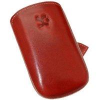 SunCase Leather Case Red (BlackBerry Bold 9790)