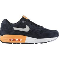 Nike Air Max 1 Premium dark obsidian/metallic silver/atomic orange